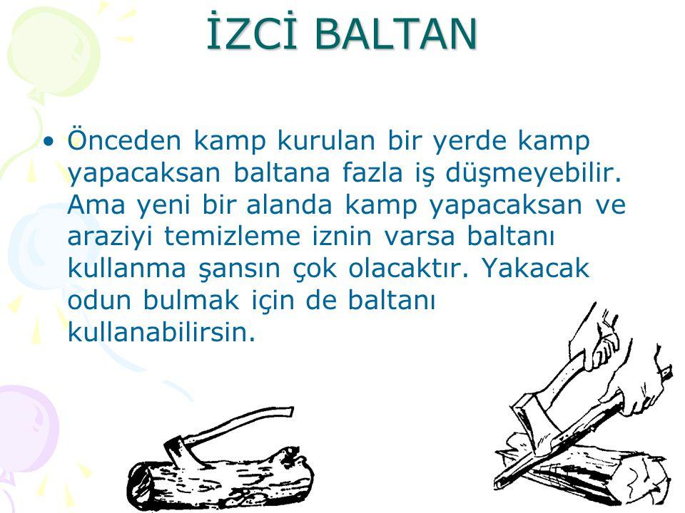 İZCİ BALTAN