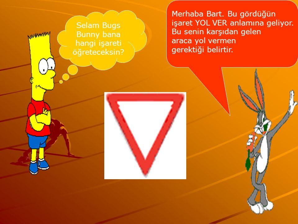 Selam Bugs Bunny bana hangi işareti öğreteceksin