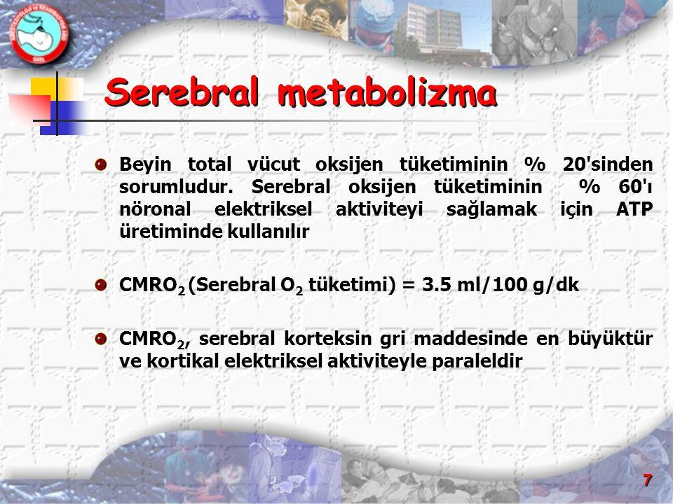 Serebral metabolizma