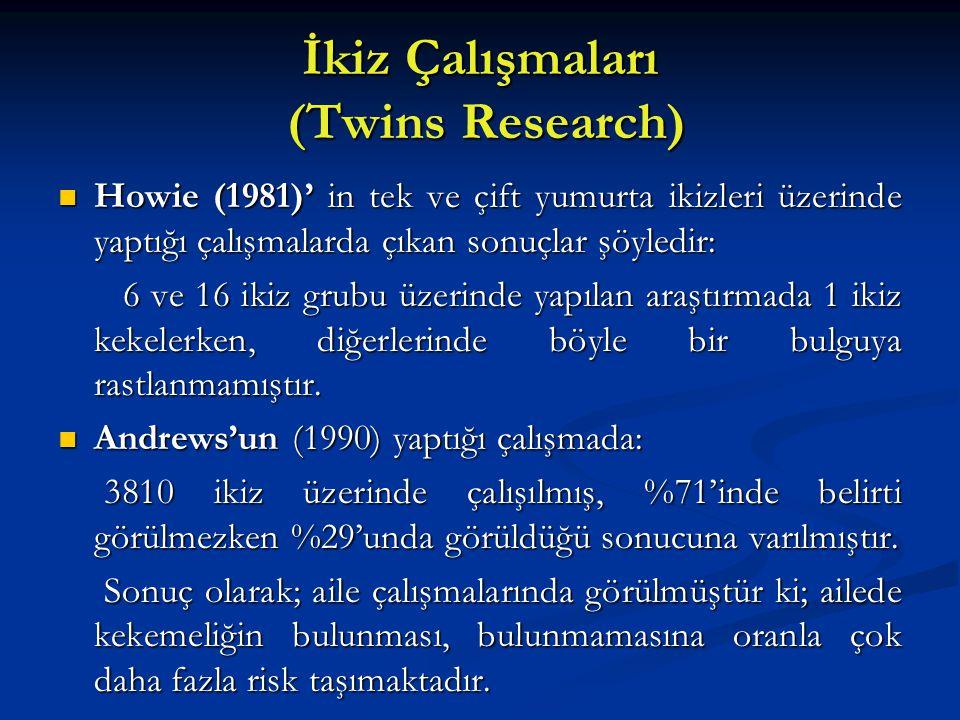 İkiz Çalışmaları (Twins Research)