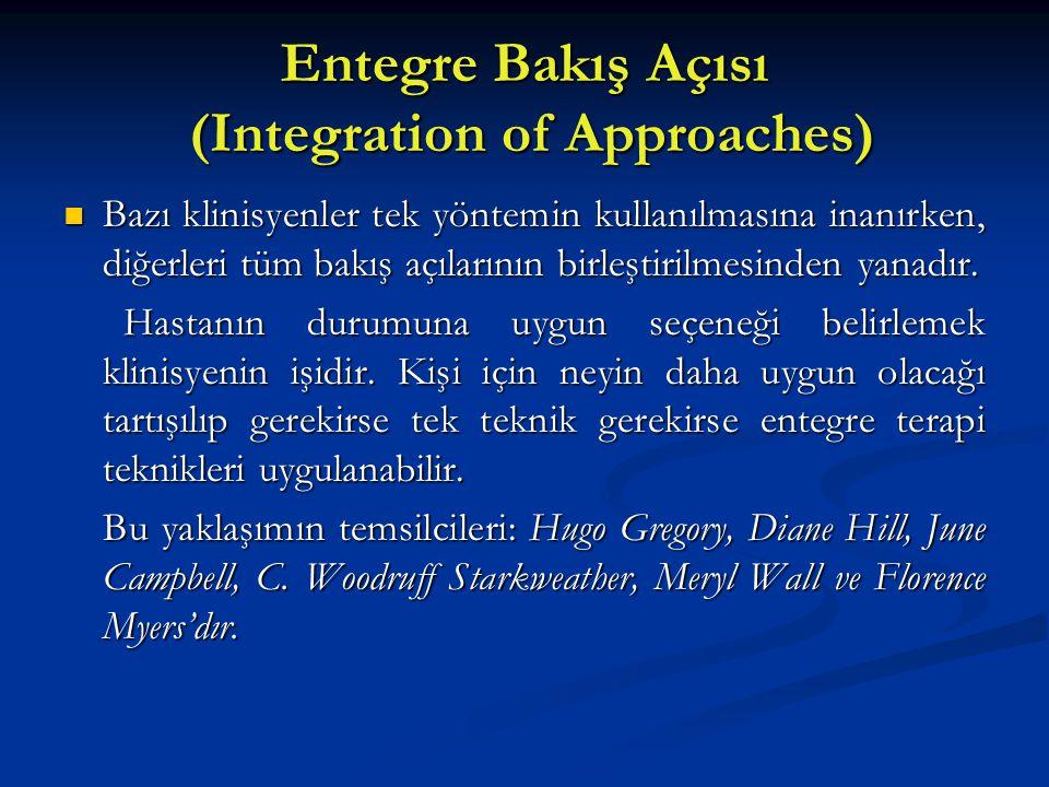 Entegre Bakış Açısı (Integration of Approaches)