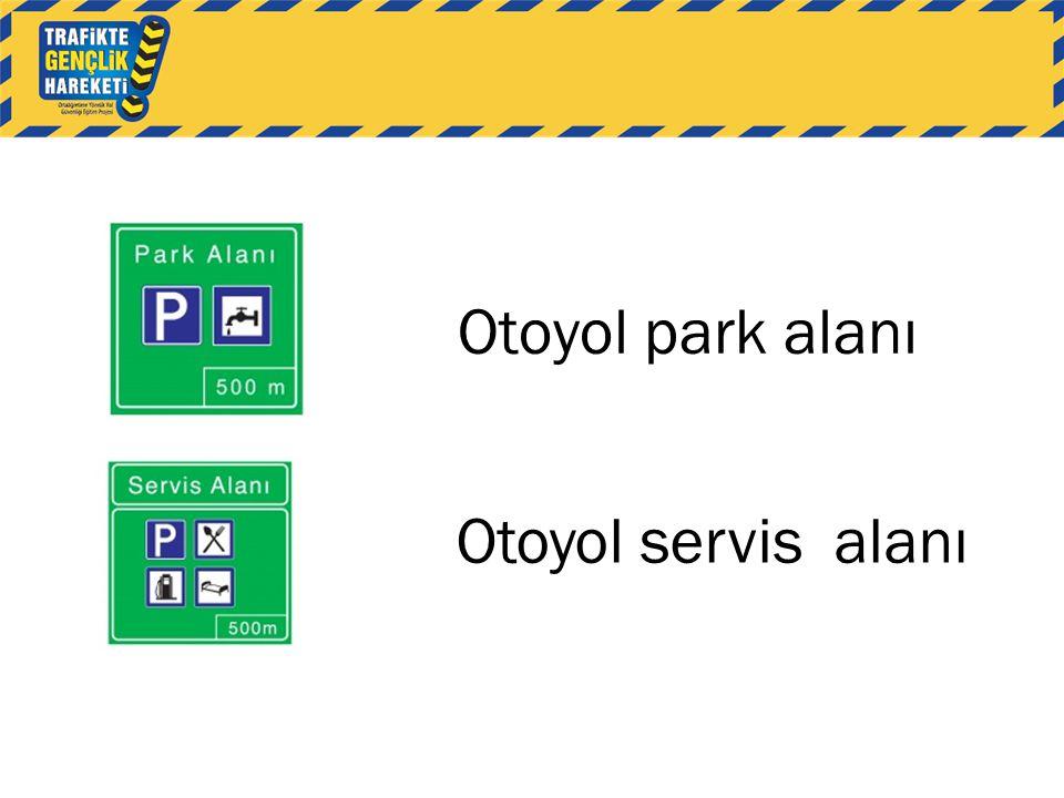 Otoyol park alanı Otoyol servis alanı