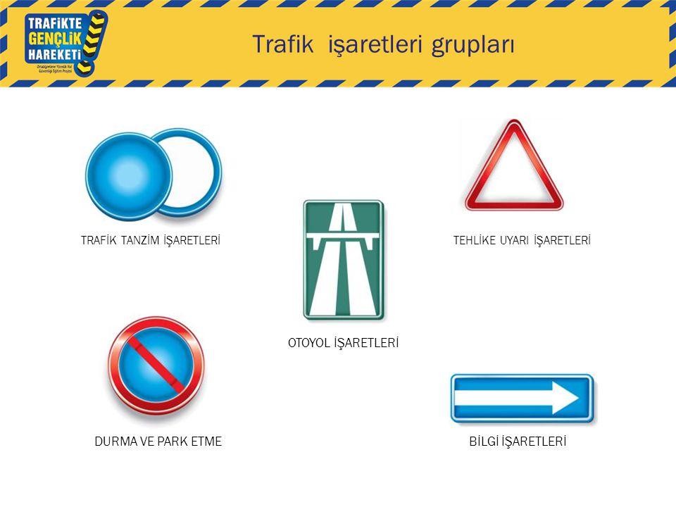 Trafik işaretleri grupları