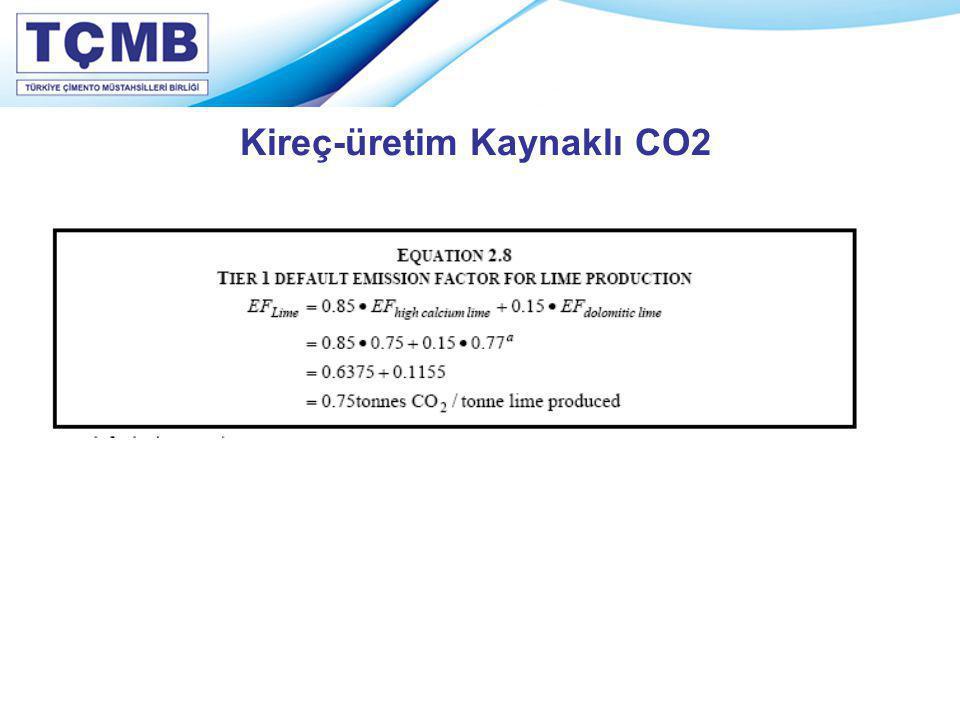 Kireç-üretim Kaynaklı CO2