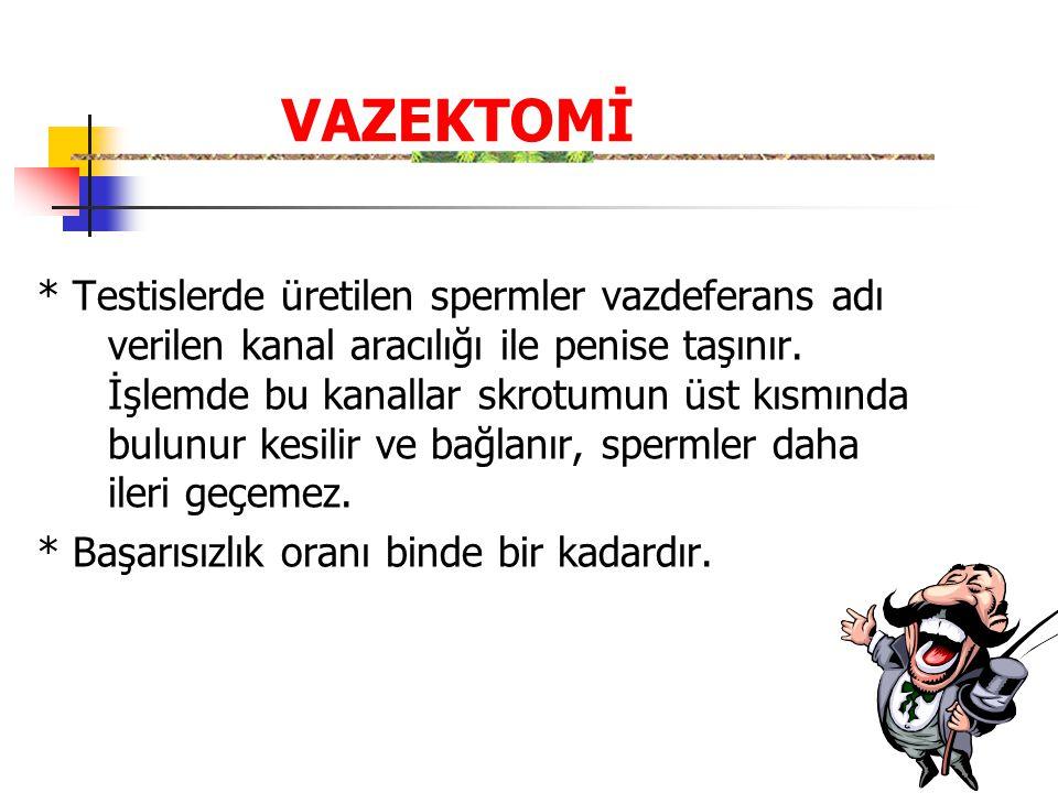 VAZEKTOMİ