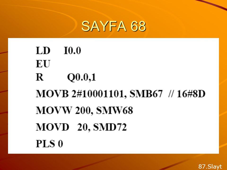 SAYFA 68 87.Slayt