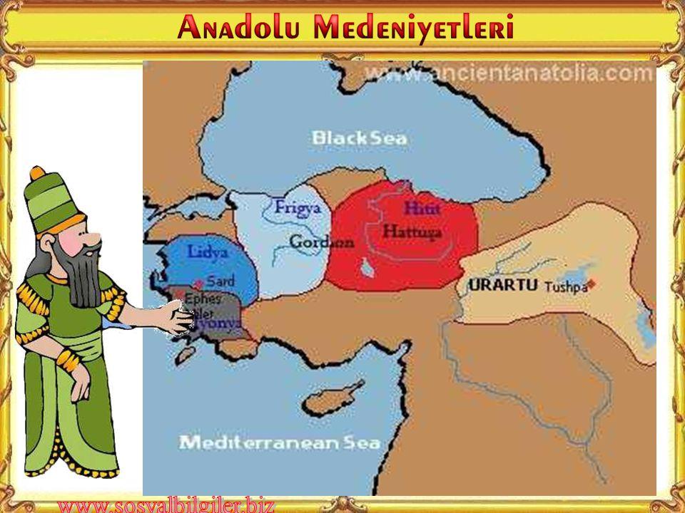 Anadolu'da kurulan ilk medeniyetler hangileridir