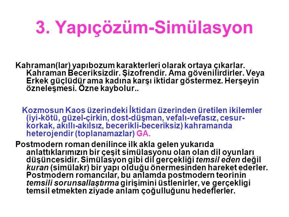 3. Yapıçözüm-Simülasyon