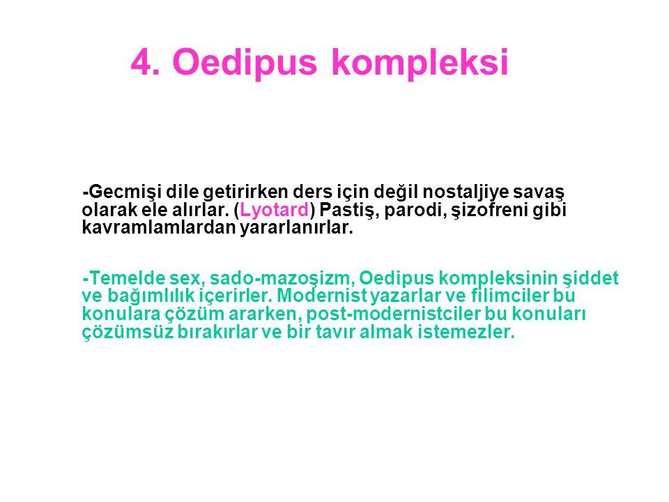 4. Oedipus kompleksi