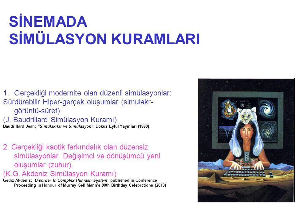 SİNEMADA SİMÜLASYON KURAMLARI