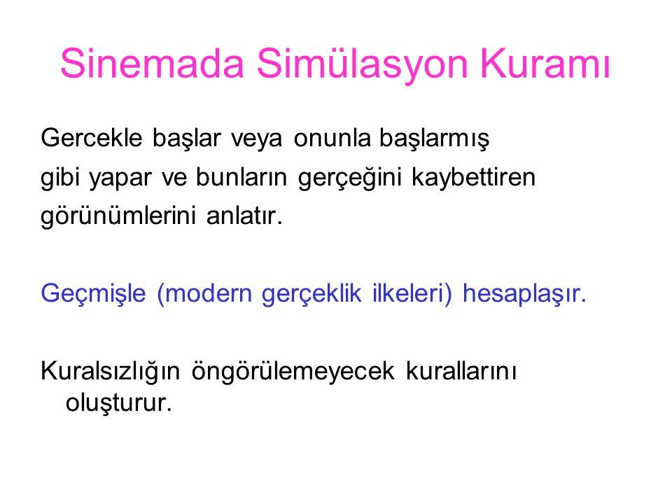 Sinemada Simülasyon Kuramı