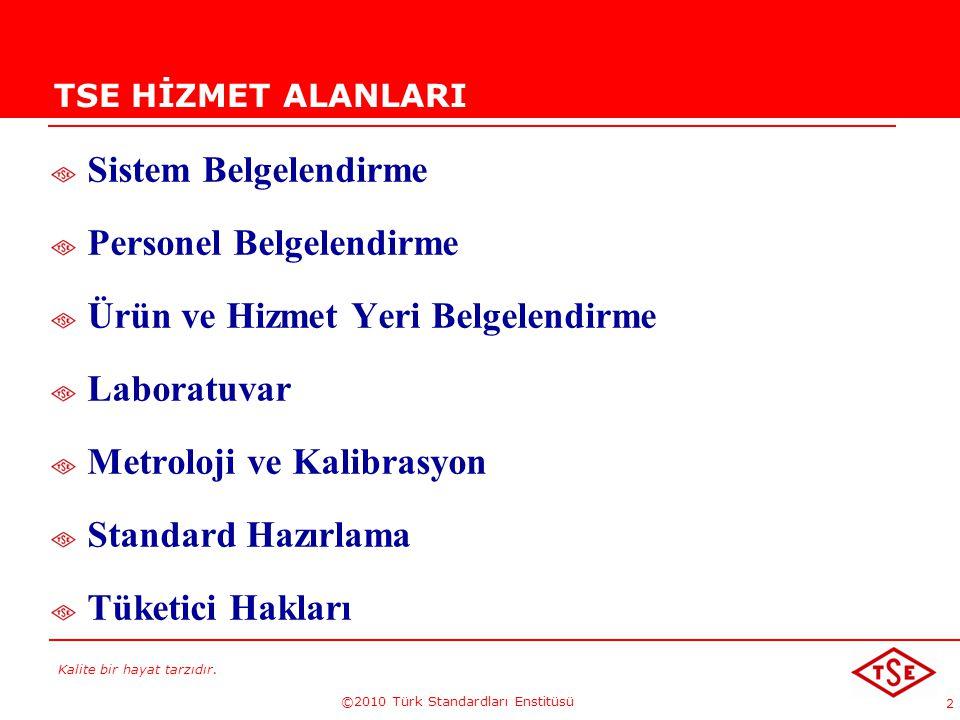 ©2010 Türk Standardları Enstitüsü
