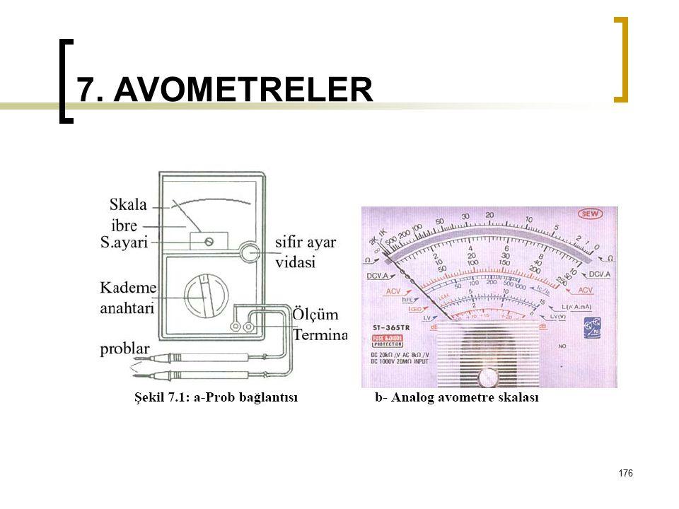 7. AVOMETRELER 176