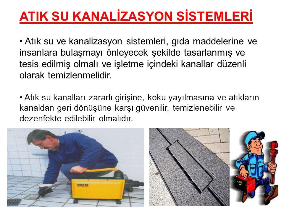 ATIK SU KANALİZASYON SİSTEMLERİ