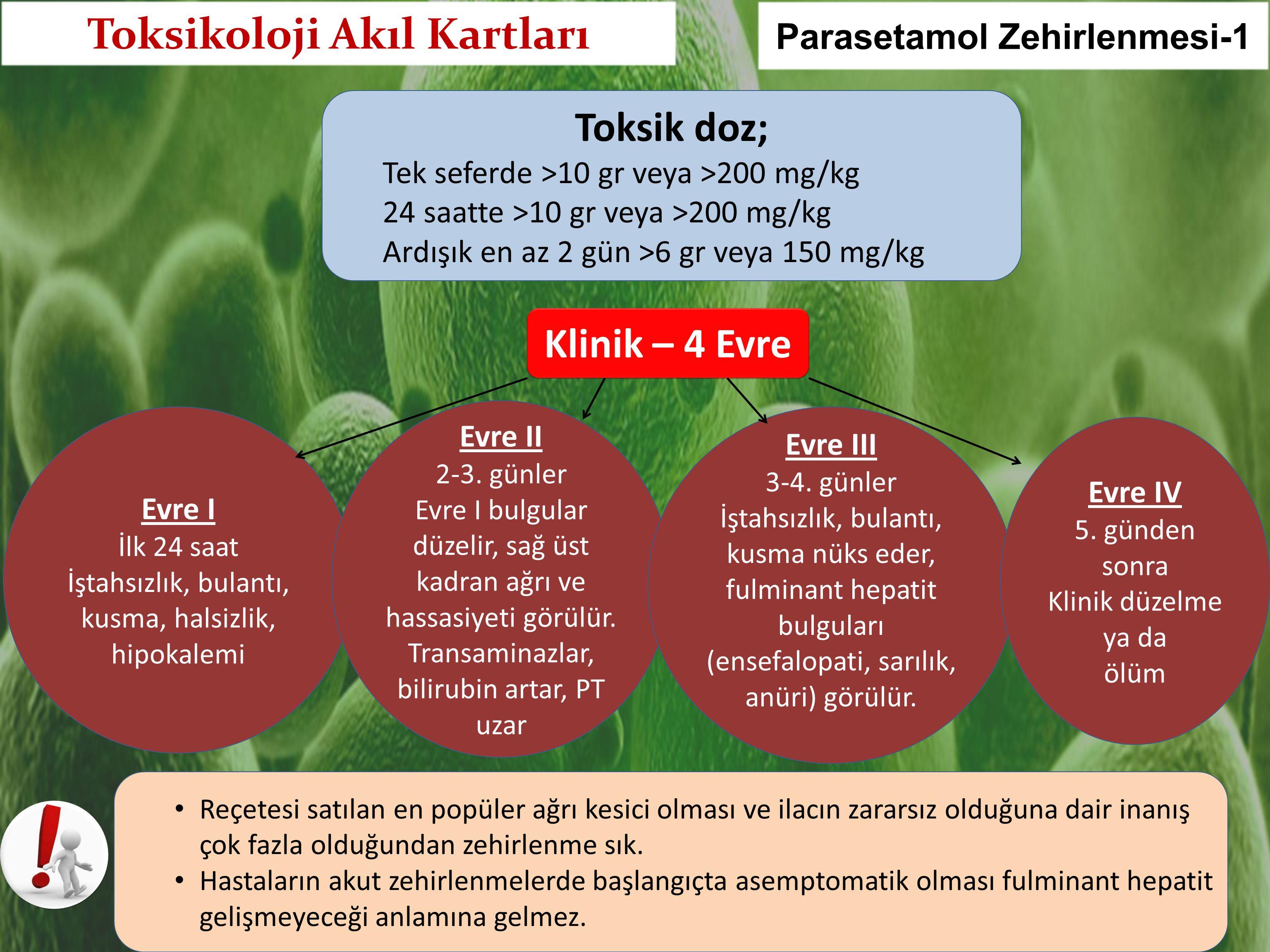 Toksikoloji Akıl Kartları