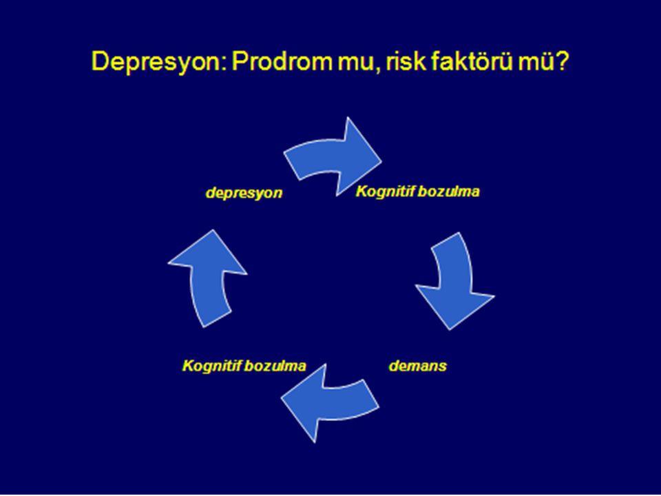 Depresyon: Prodrom mu risk faktörü mü