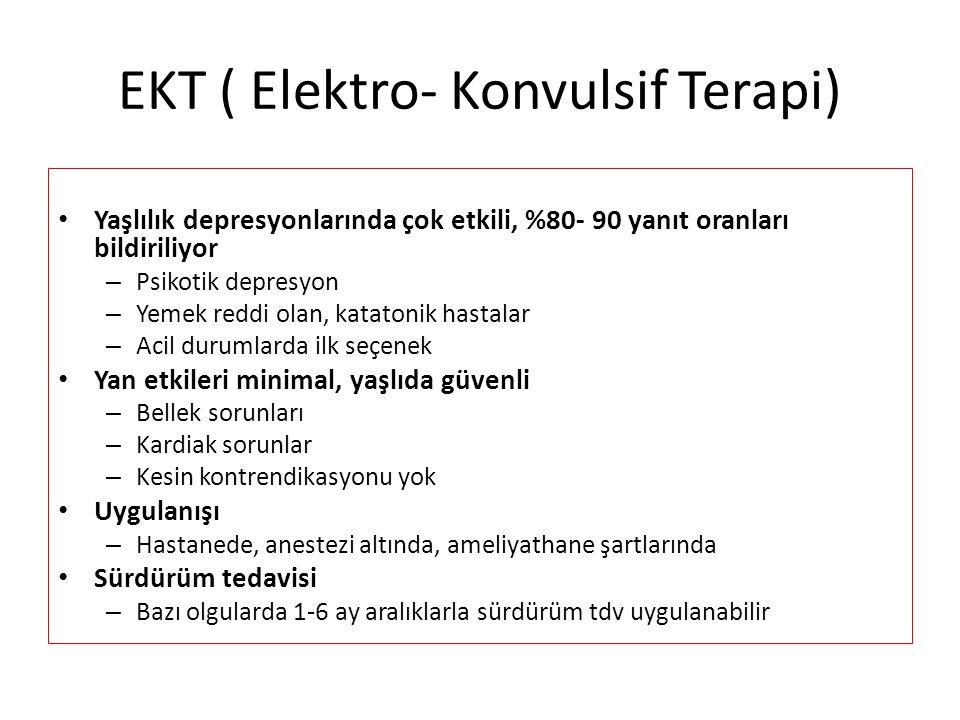 EKT ( Elektro- Konvulsif Terapi)