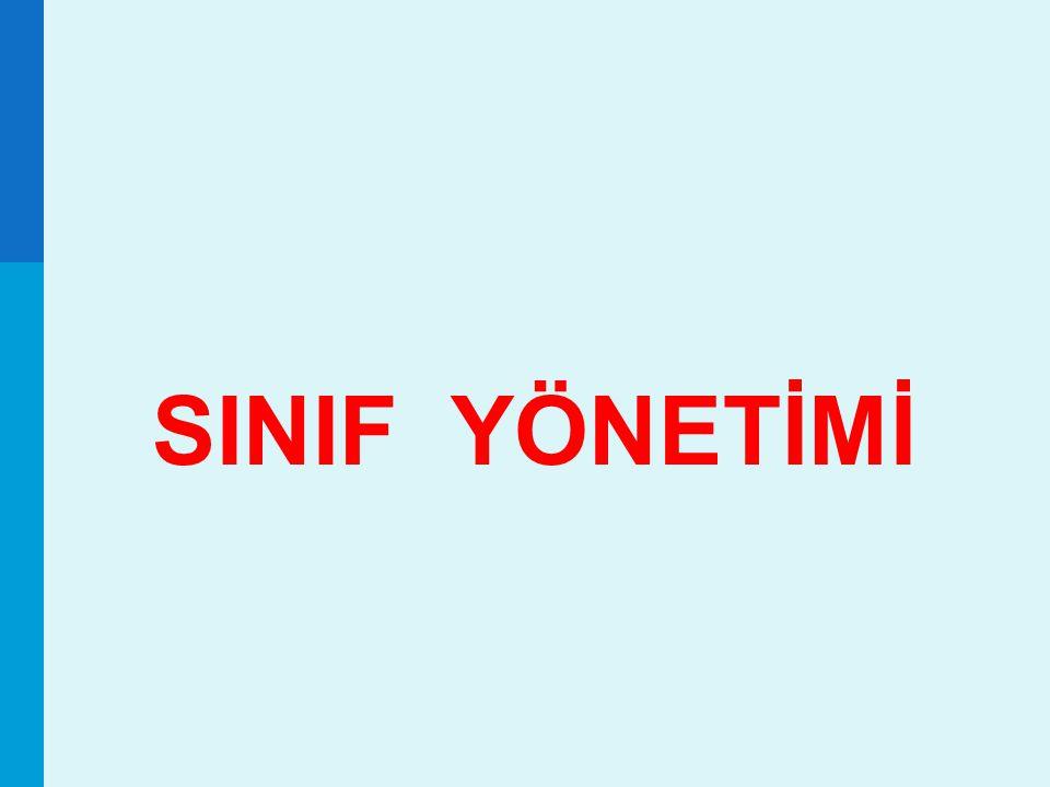 SINIF YÖNETİMİ 1 1