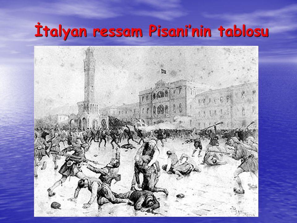 İtalyan ressam Pisani'nin tablosu