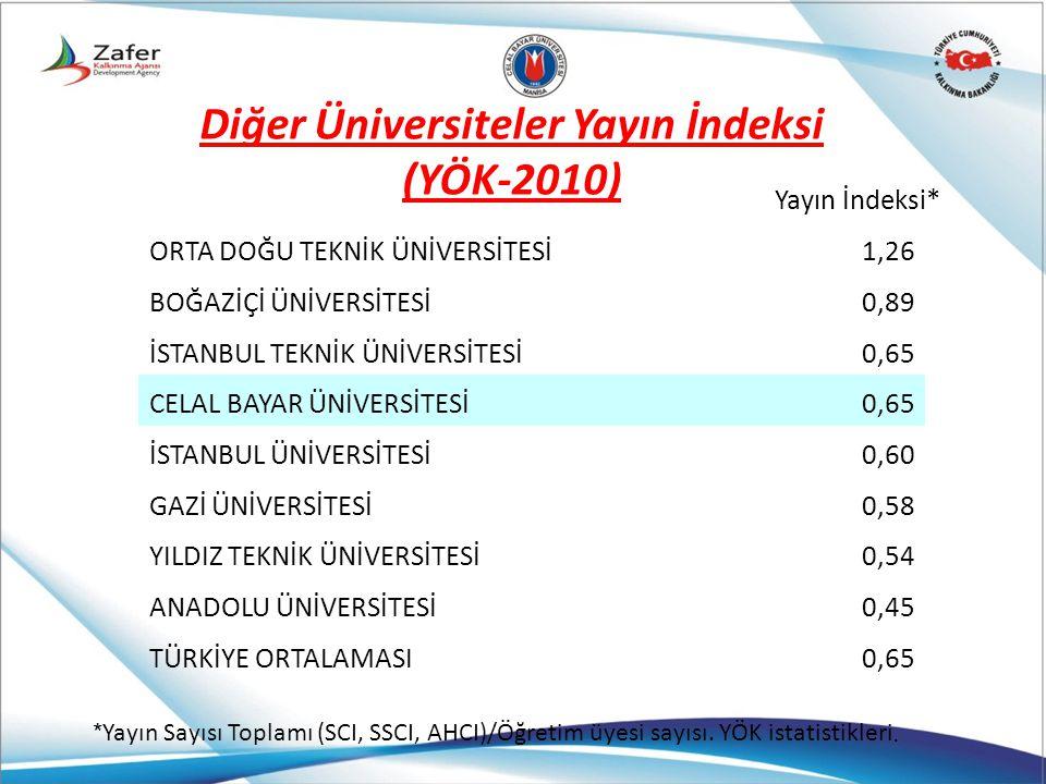 Diğer Üniversiteler Yayın İndeksi
