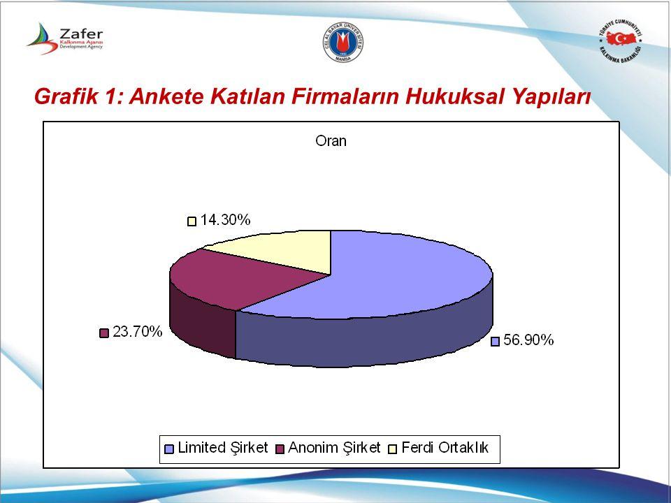 Grafik 1: Ankete Katılan Firmaların Hukuksal Yapıları
