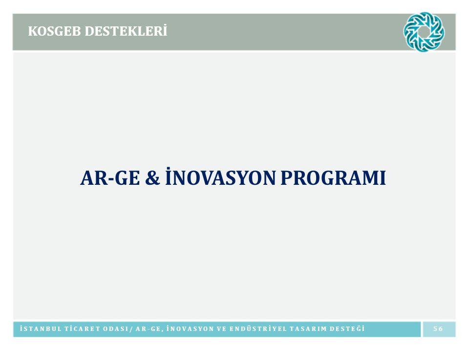 AR-GE & İNOVASYON PROGRAMI