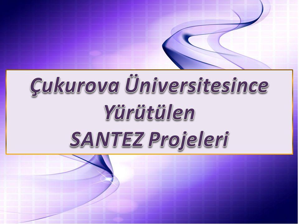 Çukurova Üniversitesince Yürütülen