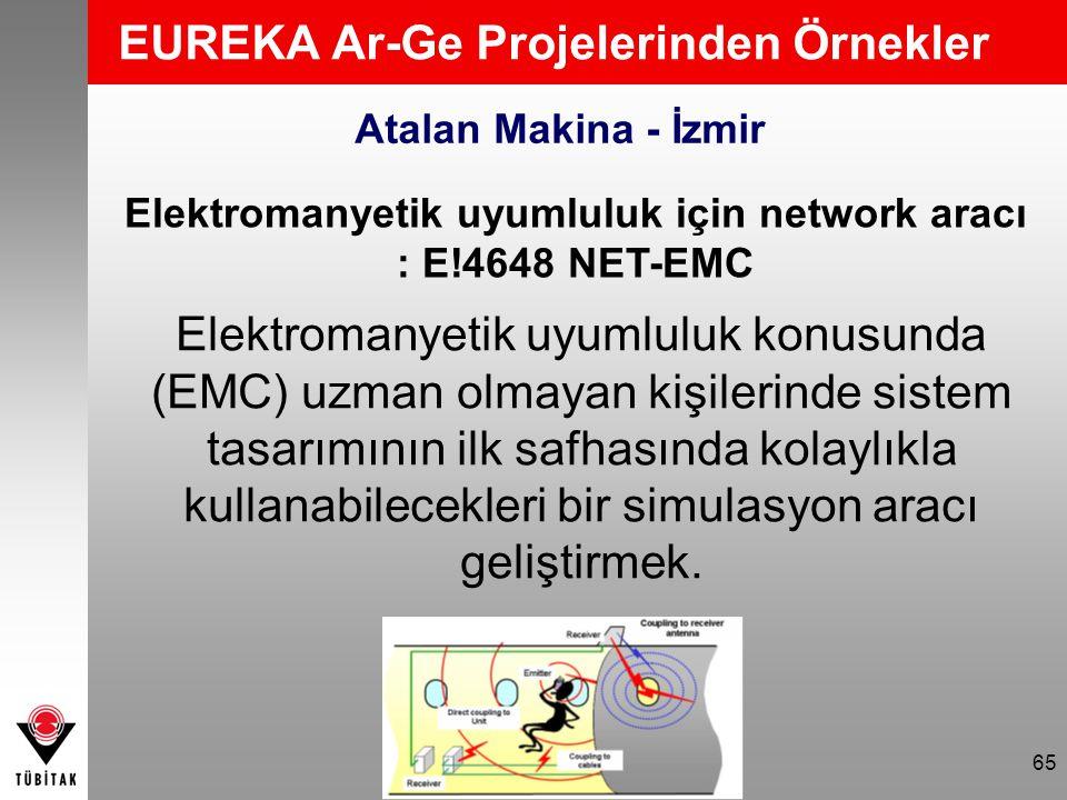 EUREKA Ar-Ge Projelerinden Örnekler