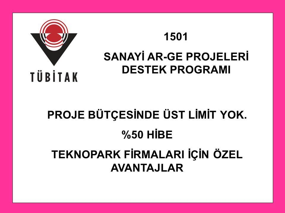 SANAYİ AR-GE PROJELERİ DESTEK PROGRAMI