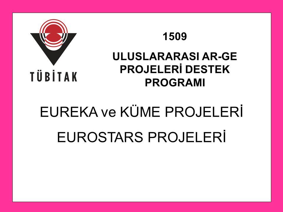 ULUSLARARASI AR-GE PROJELERİ DESTEK PROGRAMI