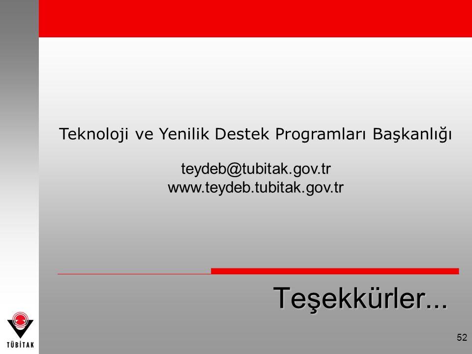 Teknoloji ve Yenilik Destek Programları Başkanlığı