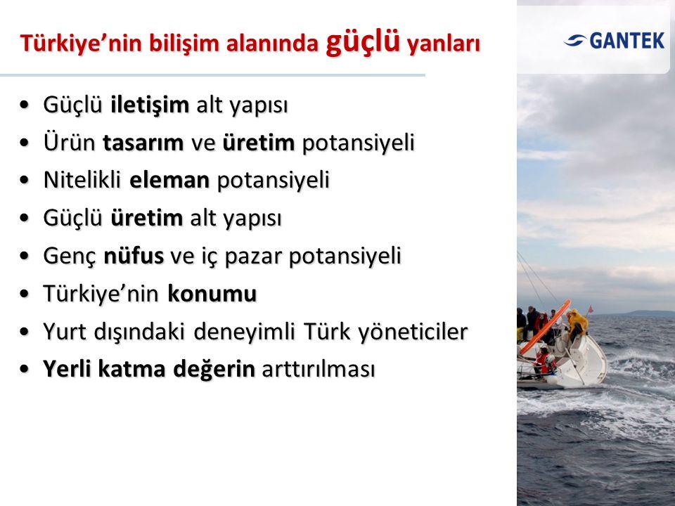 Türkiye'nin bilişim alanında güçlü yanları