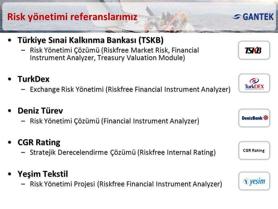 Risk yönetimi referanslarımız