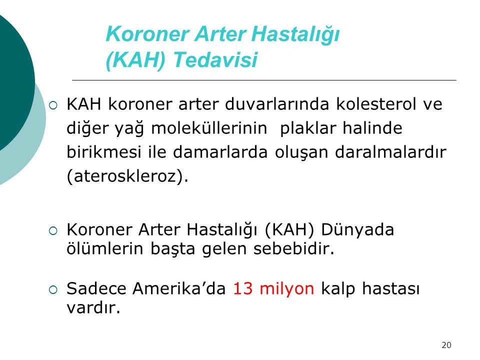 Koroner Arter Hastalığı (KAH) Tedavisi