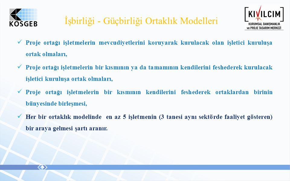 İşbirliği - Güçbirliği Ortaklık Modelleri