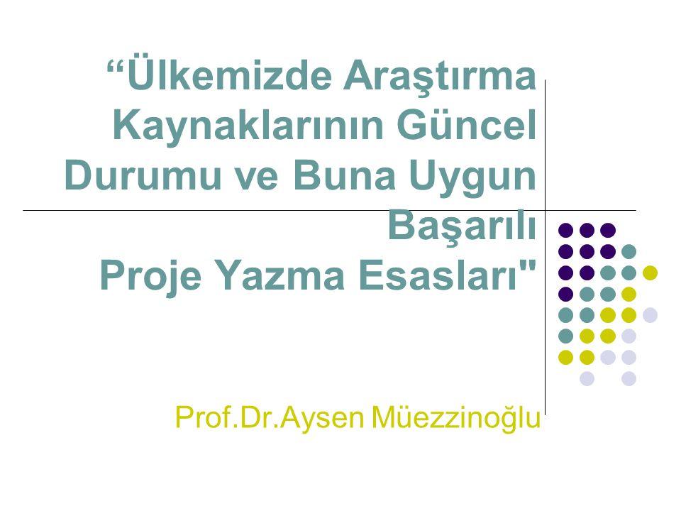 Prof.Dr.Aysen Müezzinoğlu