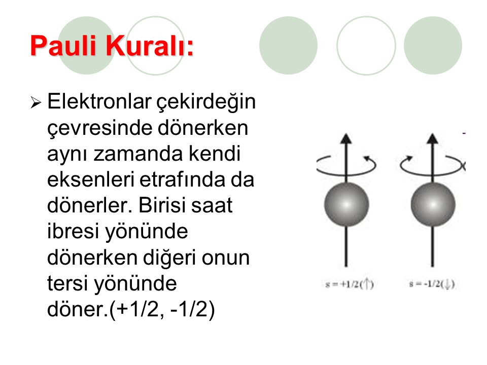 Pauli Kuralı: