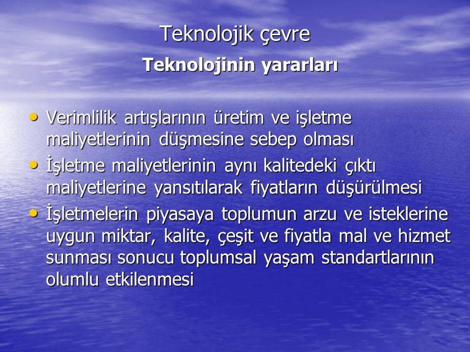 Teknolojinin yararları