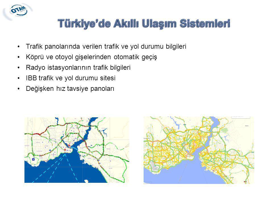 Türkiye'de Akıllı Ulaşım Sistemleri