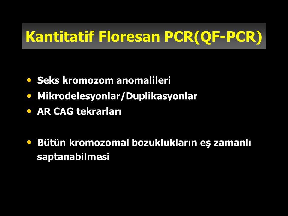Kantitatif Floresan PCR(QF-PCR)