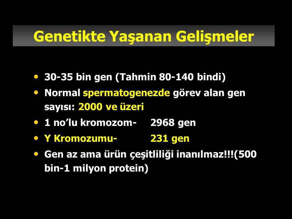 Genetikte Yaşanan Gelişmeler