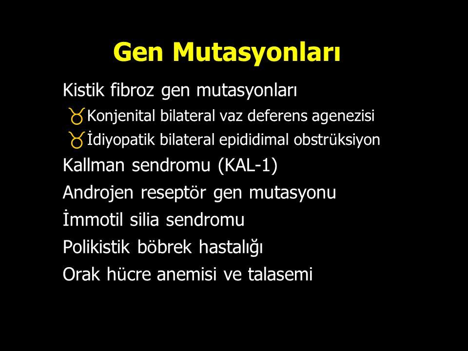 Gen Mutasyonları Kistik fibroz gen mutasyonları
