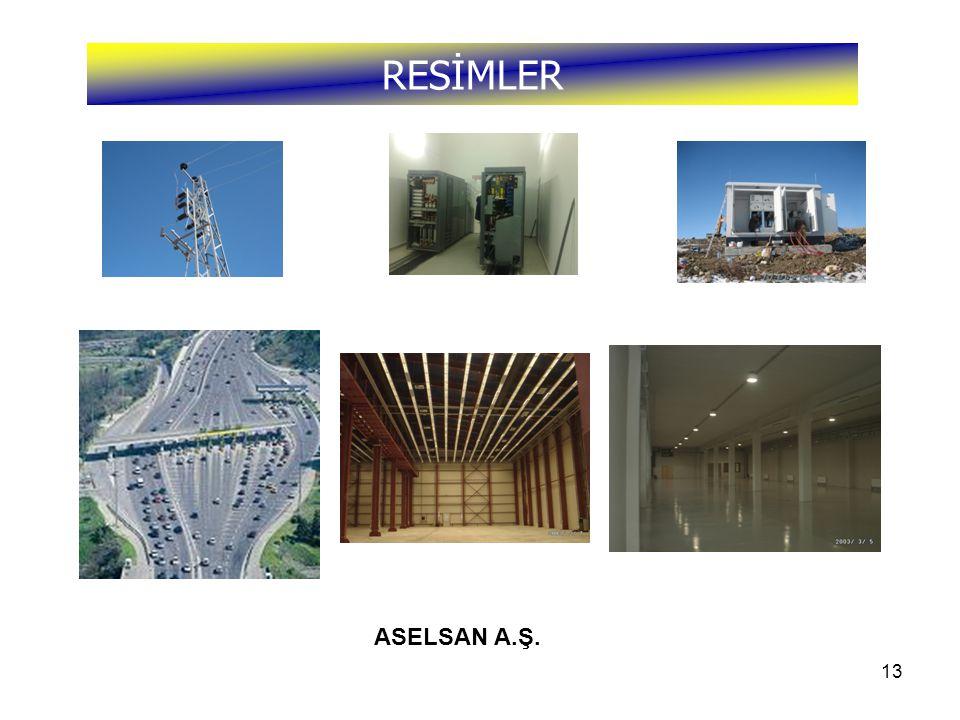 RESİMLER ASELSAN A.Ş.