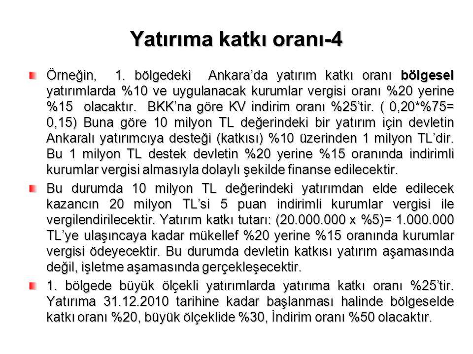 Yatırıma katkı oranı-4