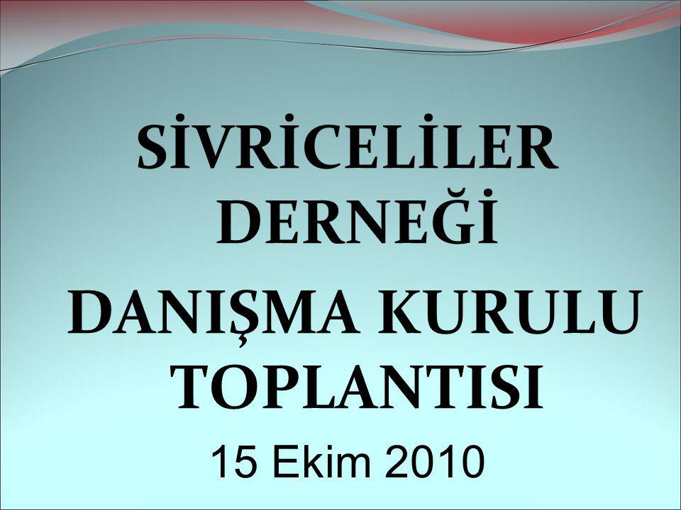 DANIŞMA KURULU TOPLANTISI