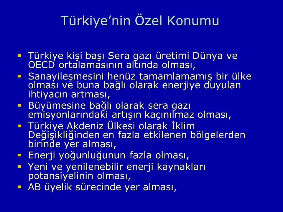 Türkiye'nin Özel Konumu