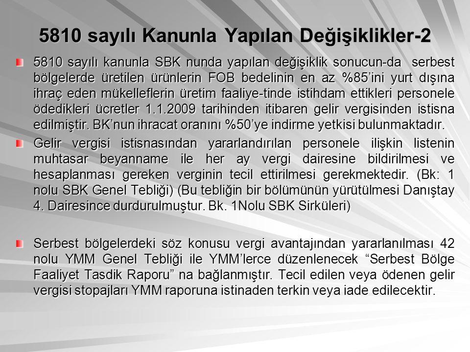 5810 sayılı Kanunla Yapılan Değişiklikler-2