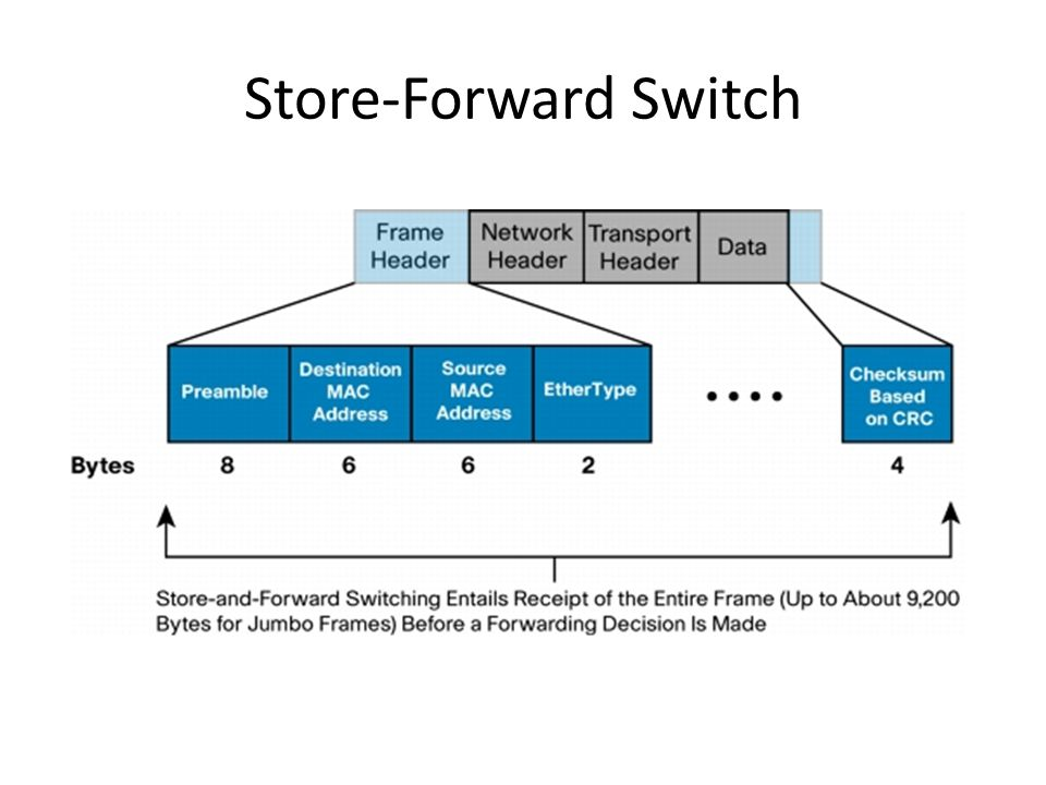 Store-Forward Switch