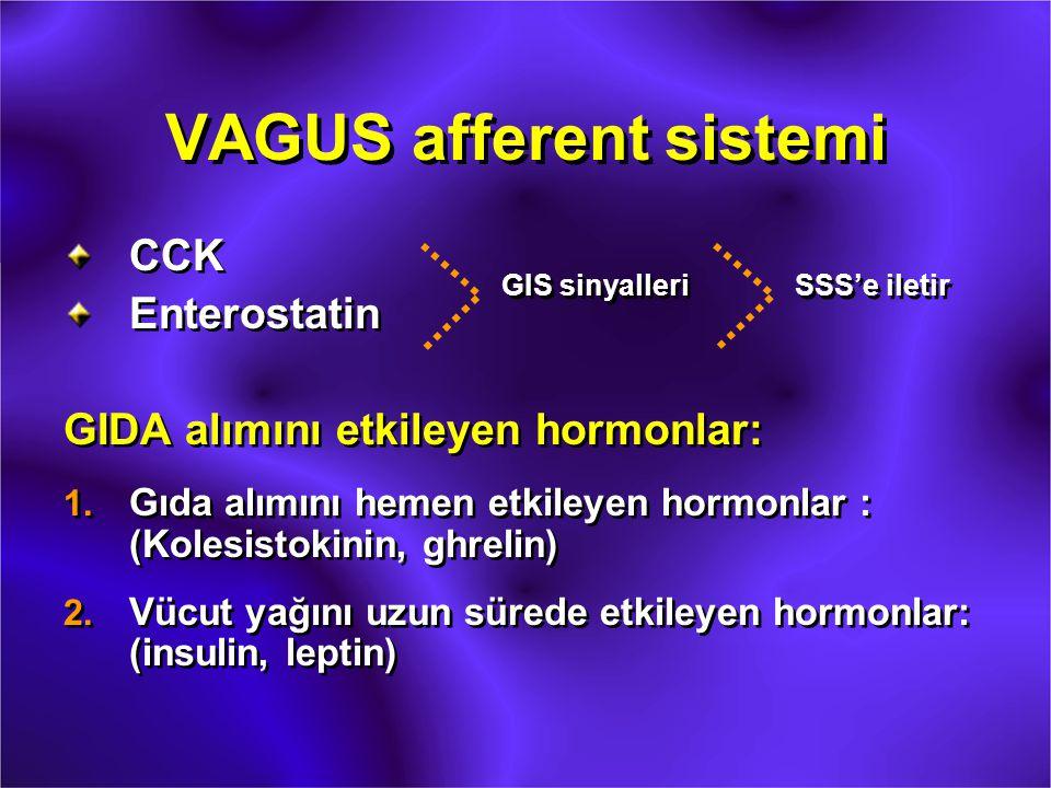 VAGUS afferent sistemi