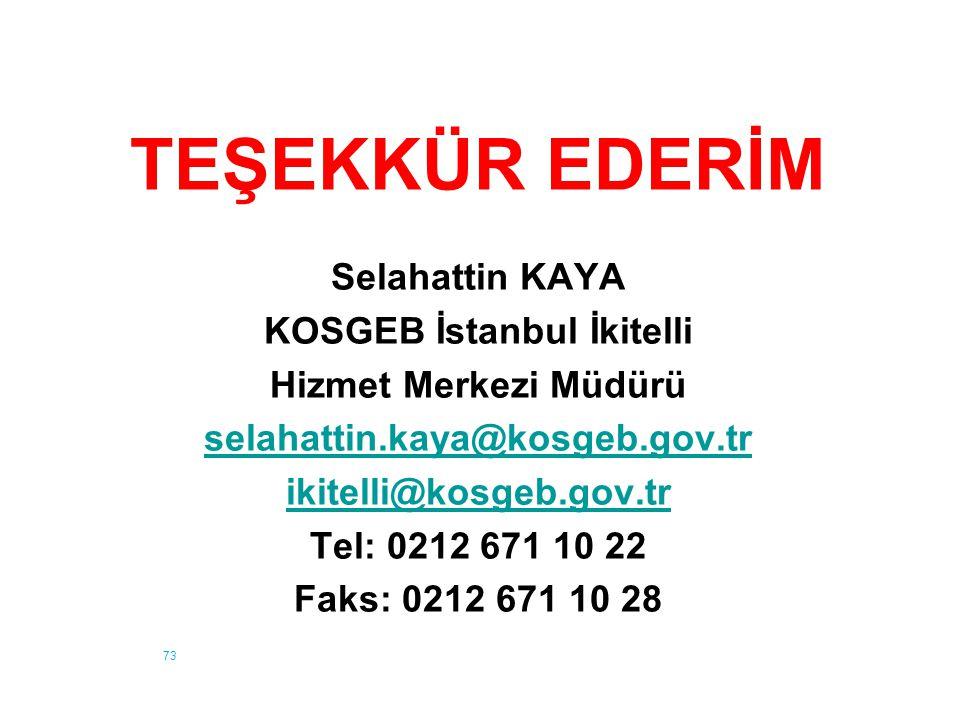 KOSGEB İstanbul İkitelli
